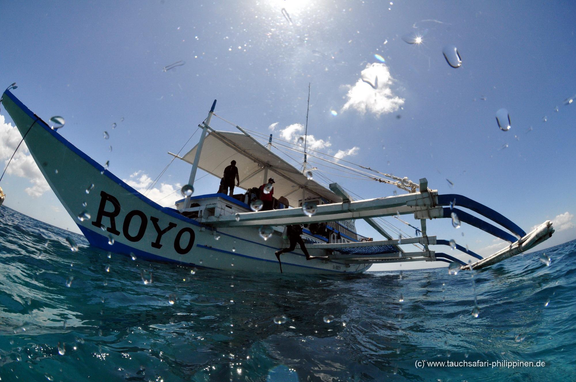Safariboot Royo - Tauchsafari Philippinen