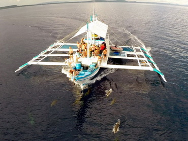 Tauchsafariboot auf den Philippinen